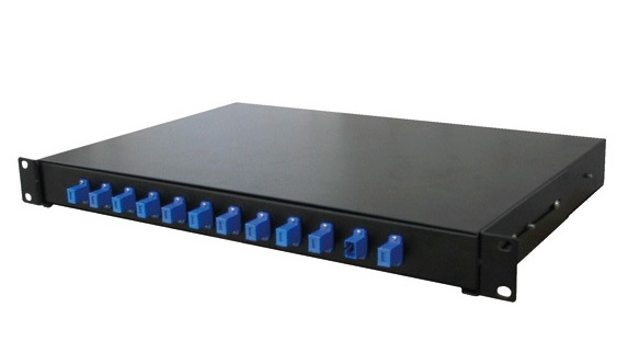 Dintek ODF 12 port Fiber optic enclosure, wallmount